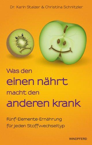 Buchcover: Was den einen nährt, macht den anderen krank